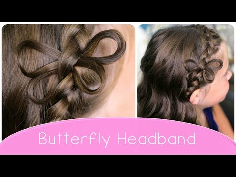 Butterfly Braided Headband | Cute Hairstyle Ideas