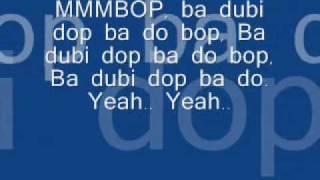 Video Hanson - Mmmbop (Lyrics) MP3, 3GP, MP4, WEBM, AVI, FLV Januari 2018