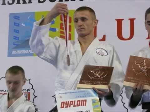 Łukasz Smorzewski III miejsce na Mistrzostwach Polski Seniorów. Luboń, 2012r.