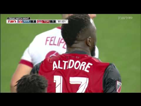 Video: Match Highlights: Toronto FC at New York Red Bulls - May 19, 2017