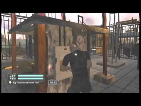 splinter cell double agent xbox 360 solution