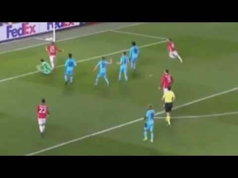 Wayne Ronney Goal vs Feyenoord 24.11.2016