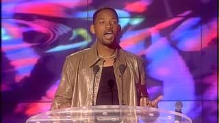 Spice Girls win Outstanding Contribution presented by Will Smith | BRIT Awards 2000