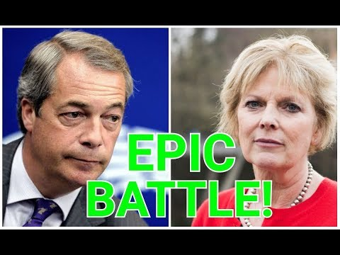 Epic Battle: Watch Nigel Farage Take Anna Soubry To The Cleaners