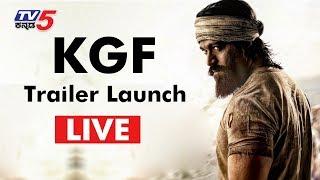Rocking Star Yash KGF Trailer Launch | YASH | #KGF Trailer | TV5 Kannada