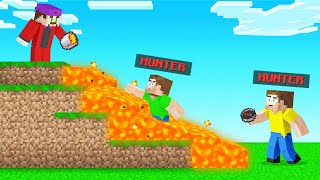 BEST SPEEDRUNNER Play In MINECRAFT! (Hunters VS Speedrunners)
