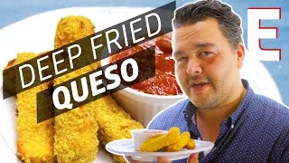How to Make Deep Fried Queso Sticks — You Can Do This! by Eater