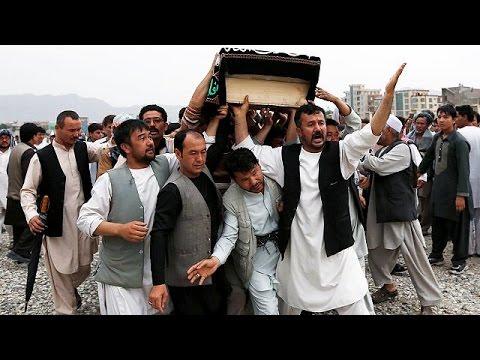 Αφγανιστάν: Κηδεύονται τα θύματα της πολύνεκρης επίθεσης