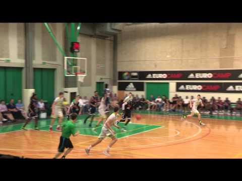 Nemanja Dangubic adidas EuroCamp 2014 Highlights