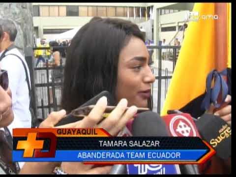 Tamara Salazar es la abanderada de Ecuador para los Panamericanos de Lima