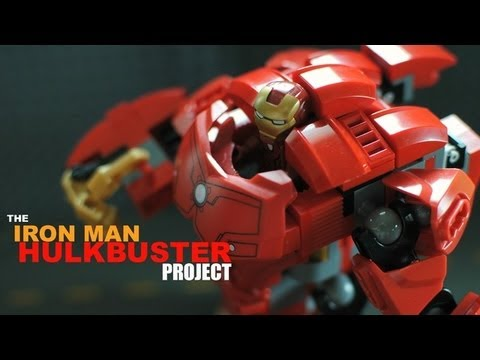 LEGO Iron Man Hulkbuster Cuusoo Project by jonsanpedro