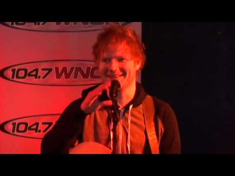 Ed Sheeran answers questions from WNOK listeners