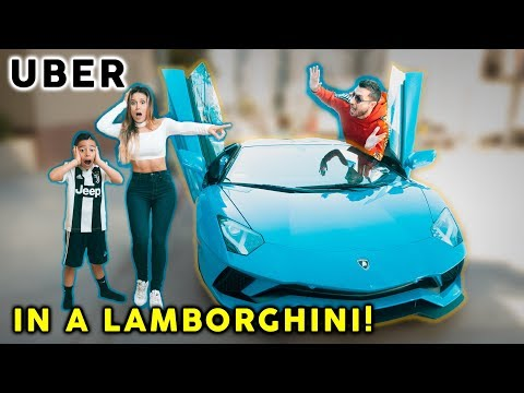 Picking Up Uber Riders In a LAMBORGHINI! **SO FUNNY** | The Royalty Family