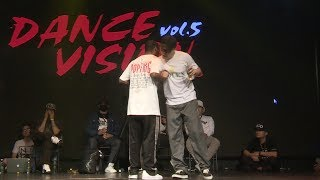 Franqey vs Bibi – Dance Vision vol 5 Popping Best 16