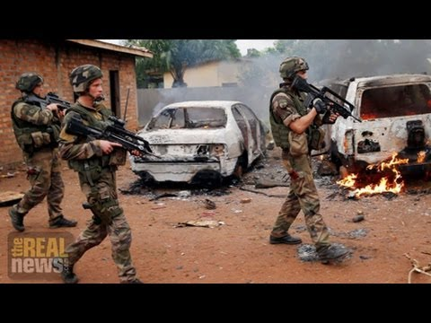 central - France sends 1000 troops into the Central African Republic as violence continues to escalate See more videos: http://therealnews.com.