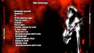 The Cure - Another Journey By Train (Original Sound)