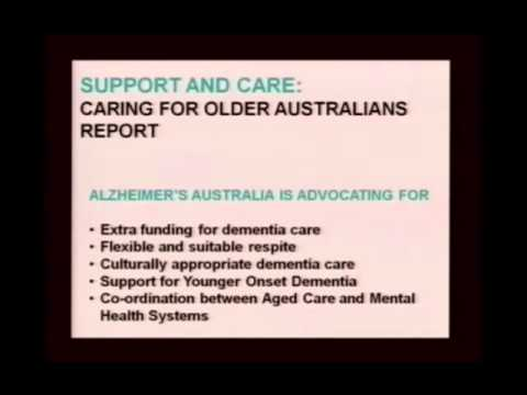 demenzfilme - Listen to Mr Glenn Rees - Chief Executive Officer of Alzheimer's Australia.
