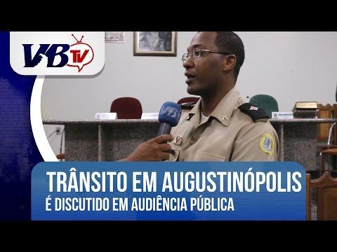 VBTv | Tr�nsito de Augustin�polis � discutido em audi�ncia na C�mara