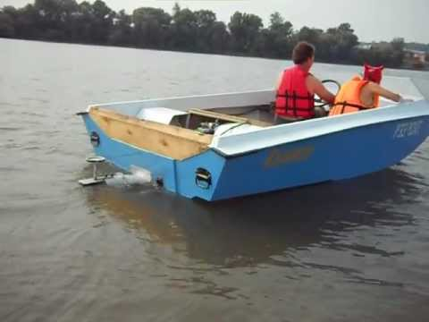водометные мини лодки