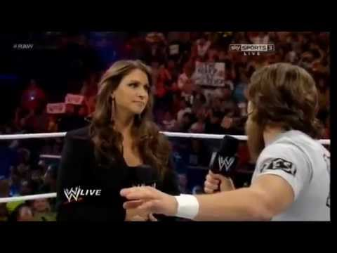 Stephanie McMahon and Daniel Bryan