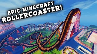 Video Minecraft Maps - EPIC ROLLERCOASTER! (When Pigs Fly Rollercoaster) MP3, 3GP, MP4, WEBM, AVI, FLV Maret 2018
