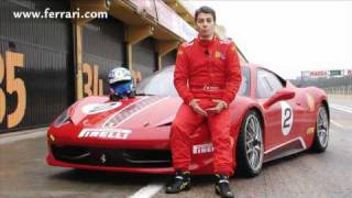 Ferrari 458 Challenge On The Track
