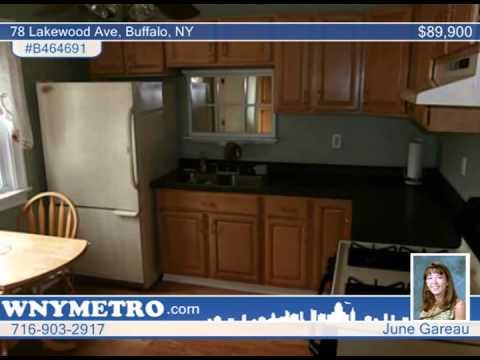 78 Lakewood Ave  Buffalo, NY Homes for Sale | wnymetro.com