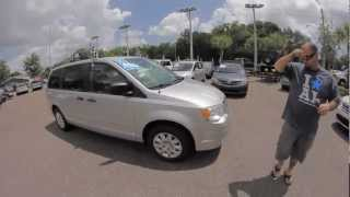 Autoline's 2008 Chrysler Town&Country LX Walk Around Review Test Drive