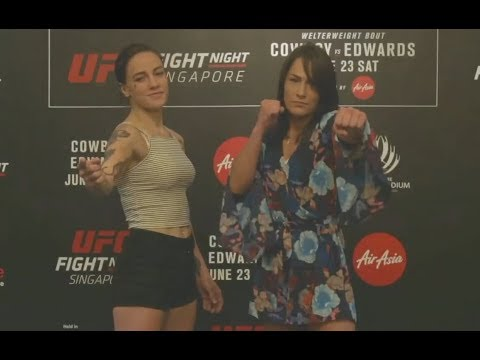 Jessica-Rose Clark vs. Jessica Eye - Media Day Face-Off - (UFC Fight Night Singapore) - /r/WMMA
