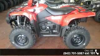 6. 2016 Suzuki KingQuad 500AXi  - Charleston Powersports - N...