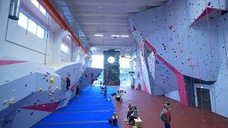 Bouldering In The NEW GYM! by Eric Karlsson Bouldering