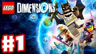 LEGO Dimensions - Gameplay Walkthrough Part 1 - Batman, Gandalf, and Wyldstyle! (PS4, Xbox One)
