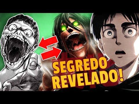 O SEGREDO dos TITÃS REVELADO! ‹ ATTACK ON TITAN! › 😱 😱 😱