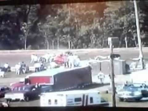 Very Bad Dirt Track Crash Late Model Worst Ever Hagerstown Speedway