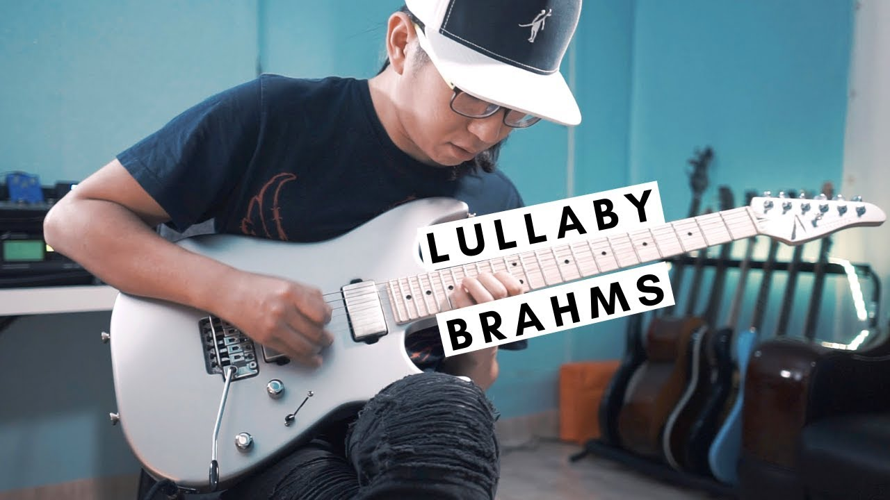 Lullaby (Brahms) | 🎸 Electric Guitar Version | Funtwo