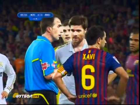 Barcelona Vs Real Madrid – Marcelo Horrible Tackle then Brawl.. 3-2 18th August 2011
