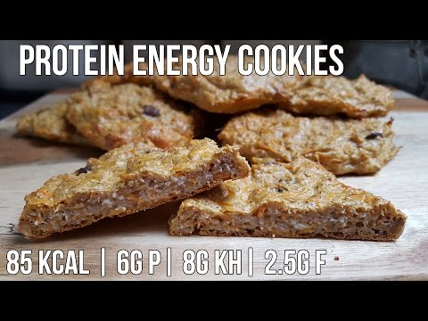 Protein Energy Cookies | Selbstgemachte Energy Cakes