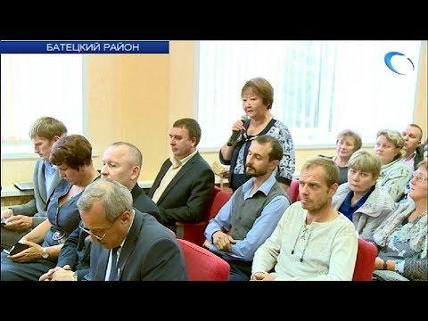 Врио губернатора области Андрей Никитин встретился с населением Батецкого района