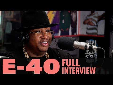 """E-40 on """"The D-Boy Diary"""", Being Friends With Tupac, And More! (Full Interview) 