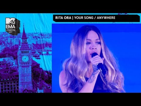 Rita Ora Performs 'Your Song' & 'Anywhere' Medley | MTV EMAs 2017 | Live Performance | MTV Music