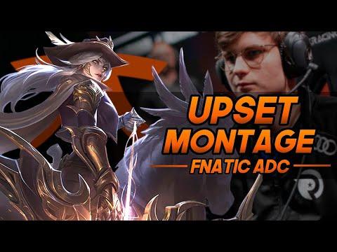 "Upset ""FNATIC ADC"" Montage   League of Legends"