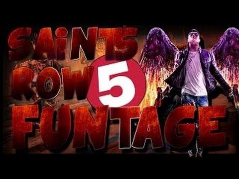 BIENVENUE EN ENFER ! Saints Row The Gat Of Hell Funny Momnets FunTage (видео)