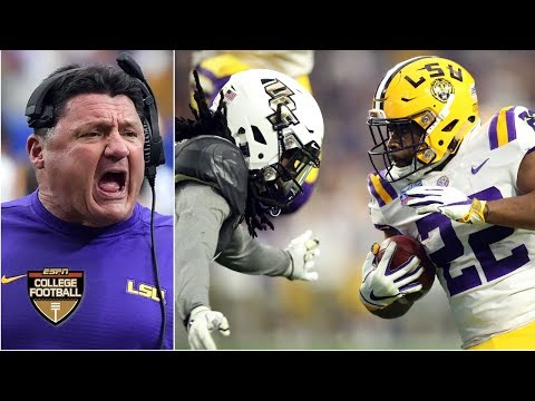 LSU Buries UCF's Win Streak In 2019 Fiesta Bowl Thriller | College Football Highlights