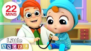 Video Baby's Visit To The Doctor | Nursery Rhymes by Little Angel MP3, 3GP, MP4, WEBM, AVI, FLV Januari 2019