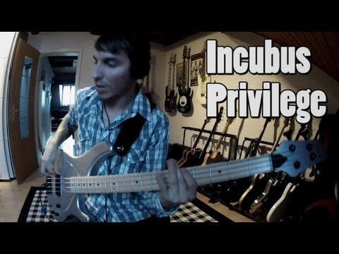 Incubus - Privilege [Bass Cover]