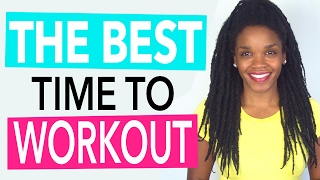 Video Topic: The Best Time to Workout to Burn Fat and Build Muscle (https://www.drphoenyx.com/shop)Science tells us that there are certain times of day that you can get the most out of your workout, and there are different benefits from exercising in the morning vs. evening. So today I'll be sharing a few fun facts on the best time to workout if you're looking to burn fat and lose weight, as well as the best time to workout if you're looking to build muscle which can help boost your metabolism. Then after that, I'll also share the MOST important factor that YOU should consider when deciding what time of day to workout. FYI, this MOST important factor will also be the most important thing that determines if you have the BEST results from your workout in the morning vs. evening.Enjoy the video!xoxo – Doc*Order FitBody Energy at Dr. Phoenyx's FitBeauty Shophttps://www.drphoenyx.com/shop*Dr. Phoenyx's FitBeauty Shop on Amazonhttp://amzn.to/2ebQdri** Get my FREE Skip Yourself Fit Jump Rope eBook  http://bit.ly/2j5zSW2Facebook    https://www.facebook.com/DrPhoenyx/Instagram    https://www.instagram.com/drphoenyx/** Dr. Phoenyx Austin, MD is the founder of the FitBeauty Shop and the creator of Dr. Phoenyx Nutrition. A fitness entrepreneur, best-selling author, and certified Sports Nutrition Specialist, Dr. Phoenyx provides nutrition products and practical tips to help women achieve a fit and beautiful body from the inside out!***DISCLAIMER:Dr. Phoenyx Austin and Dr. Phoenyx LLC strongly recommend that you consult with your physician before beginning any exercise or diet program.You should understand that when participating in any exercise or diet program, there is the possibility of physical injury. If you engage in any exercise or diet program shared by Dr. Phoenyx, you agree that you do so at your own risk, are voluntarily participating in these activities, assume all risk of injury to yourself, and agree to release and discharge Dr. Phoenyx Austin and Dr. Phoenyx LLC fr