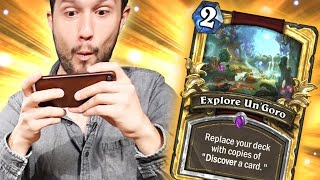 Video Bataille d'Exploration d'Un'Goro dans Hearthstone MP3, 3GP, MP4, WEBM, AVI, FLV Mei 2017