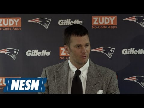 Video: Tom Brady Patriots vs. Bears Week 7 Postgame Press Conference
