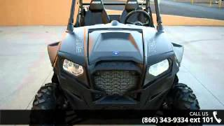 10. 2013 Polaris RZR XP 900 EPS Stealth Black and Evasive Gre...