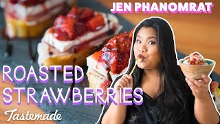 Roasted Strawberries | Good Times with Jen by Tastemade